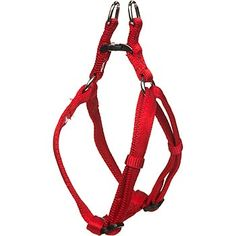 Petco Easy Step-In Red Comfort Harness for Dogs at PETCO