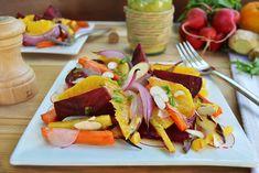 Root Vegetable Salad with Orange-Tarragon Vinaigrette | Andrew ZimmernAndrew Zimmern