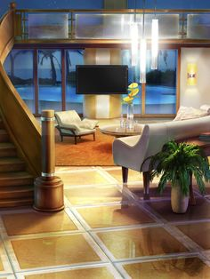 Episode Interactive Backgrounds, Episode Backgrounds, Scenery Background, Big Sky Country, Sims House, Anime Scenery, Cool Rooms, Living Spaces, Living Rooms