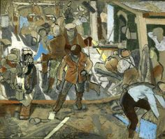 Extraordinary First World War Art, From Initial Sketches To Finished Paintings