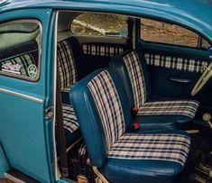 Classic Cars Interior Vw Bus 32 Ideas For 2019 Volkswagen Beetle Vintage, Beetle Car, Automotive Upholstery, Vw Vintage, Best Muscle Cars, Vw Cars, Vw Camper, Retro Cars, Vw Beetles