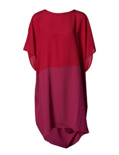 Isone Oversize Dress - Colourblock panels ensure glamorous styling in this oversized drape dress from The Wardrobe.   *Short sleeves  *Ties at the back