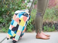 This gives me so many ideas for covering luggage in travel... even just putting a t-shirt on luggage will give it its own look. LOQI, discovered by The Grommet, are luggage covers that  bring flair to your bag deterring theft and making it easy to spot at baggage claim.