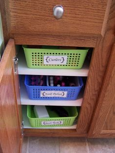 Batchelors Way: Bathroom Storage