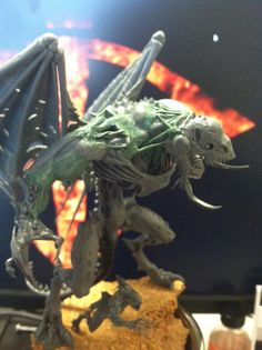 Custom Daemon Prince of Nurgle