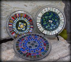 Mosaic Trivet - Candle Plate