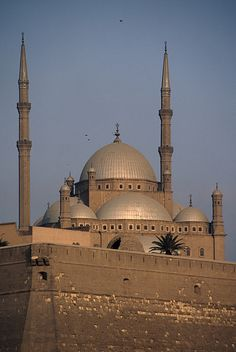 Mosque of Mohammed Ali in Cairo , Egypt