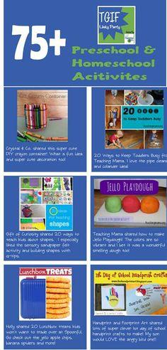 Preschool activities -Repinned by Totetude.com