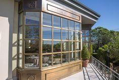 Window Systems: Janisol Arte (Bronze look) | Manufacturer: Jansen AG, CH-Oberriet Building Systems, Bronze, Windows, Window, Ramen