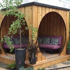 Cool ideas for outdoor living, Outdoor Furniture www.blackburninvestors.com #coastalliving