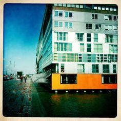 Architecture Amsterdam MVRDV Silodam