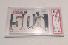 2006 TOPPS CHROME Barry Bonds HOME RUN HISTORY #500 Card, PSA GRADED GEM MT 10 ! #sfgiants #SanFranciscoGiants