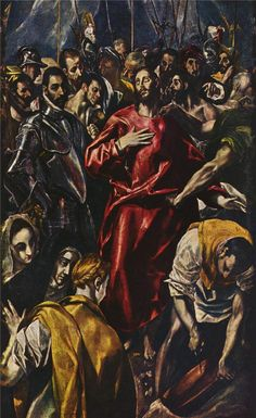 The Disrobing of Christ, 1577-1579 El Greco