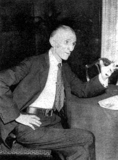 Nikola Tesla — World opinion does not affect him.