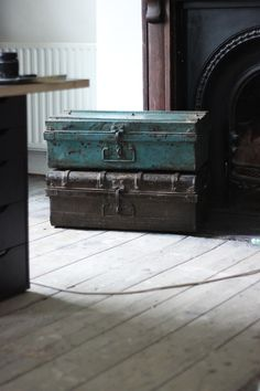 april and the bear Trunks, Recycling, House Ideas, Industrial, Bear, Antiques, Interior, Room, Home Decor