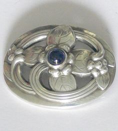 Vintage sterling georg Jensen  brooch by grannyclosetjunk on Etsy https://www.etsy.com/listing/154797479/vintage-sterling-georg-jensen-brooch