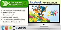 [ThemeForest]Free nulled download Facebook Soccer Cup Quiz Contest Application from http://zippyfile.download/f.php?id=43247 Tags: ecommerce, brazil, contest, facebook contest, facebook quiz, fifa app, fifa contest, fifa facebook app, fifa on facebook, fifa quiz, football contest, soccer 2014, soccer cup, soccer game, worldcup