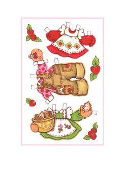Paper Doll Strawberry - Nena bonecas de papel - Picasa Web Albums