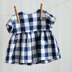 Blue Gingham Blouse photo