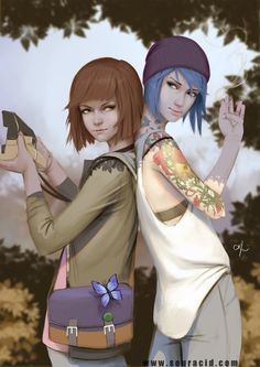 Chloe and Max by SourAcid on DeviantArt