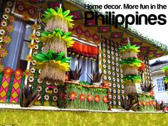 Home Decor. More fun in the Philippines Philippines Tourism, Philippines Culture, Missing Home, Visayas, Mindanao, Pinoy, Places Around The World, More Fun, Decor Styles