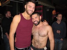 Alessandro del Toro with Tommy Defendi, out and about