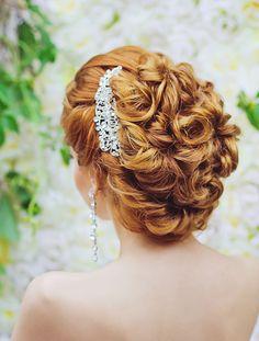 Drop Dead Gorgeous Curly Wedding Updos - Mon Cheri Bridals