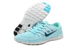 cheap for discount 5efc4 fe96a Nike Free Run Women Light Blue Shoes have a high quaity with memorable  meaning.Womens Nike Free awesome appearance well tells the spirit of sports  and ...
