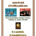 Ancient+Civilizations+Graphic+Organizers  Includes+the+following: Cover+page What+is+History? Ancient+Mesopotamia Ancient+Egypt Ancient+Greece Anci...