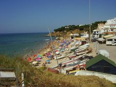 Olhos de agua, Algarve, Portugal.