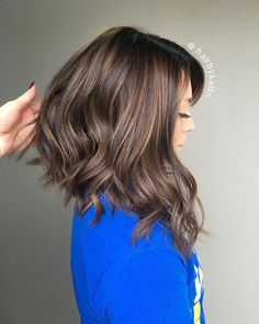 Slaying that angled bob and balayage