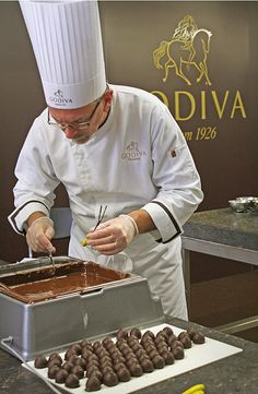 How to Make Chocolate Truffles the Godiva Way | A Little Something Sweet - WSJ.com