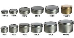good website for tins.  (to use for homemade beauty products)