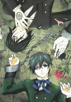 Anime Demon, Anime Manga, Anime Guys, Anime Art, Manga Girl, Black Butler Manga, Wallpaper Animes, Animes Wallpapers, Funny Wallpapers