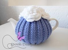 A personal favorite from my Etsy shop https://www.etsy.com/listing/482886709/lilac-tea-cosy-with-white-flowers-and