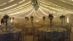 Beautiful Marquee Wedding with wonderful Candelabra Centrepieces
