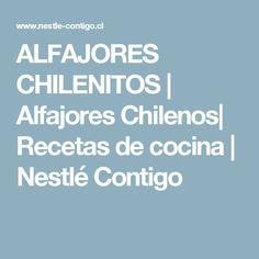 ALFAJORES CHILENITOS | Alfajores Chilenos| Recetas de cocina | Nestlé Contigo