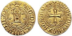 Italian States: Genoa AV Dukat ND Battista di Campofregoso Doge XXX 1478-83 My coll.