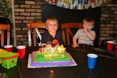 CJ's 7th birthday party