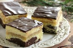 Czech Recipes, Ethnic Recipes, No Bake Cake, Tiramisu, Nutella, Cheesecake, Deserts, Dessert Recipes, Food And Drink