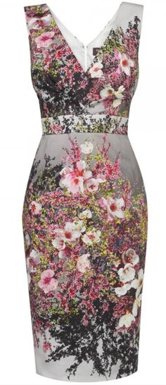 Phase Eight Blossom Print Dress