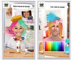 Toca Hair Salon Me -- we can't stop laughing!