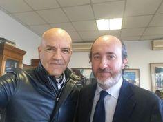 Marco Eugenio Di Giandomenico e Andrea Artioli presso Azienda Artioli a Tradate (29 gennaio 2016)
