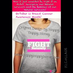 Breast Cancer Awareness www.happynappyhoney.com