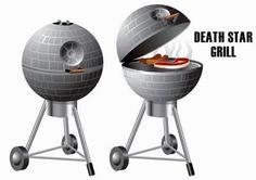 Death Star BBQ Grill #want