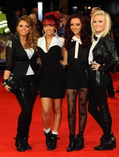 little mix i LOVE their outfits in this picture, and perries hair straight is amaaayyyzing