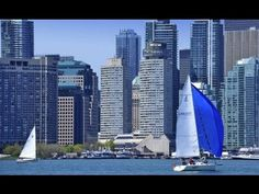 The Westin Harbour Castle Hotel in Toronto Downtown with view on Ontario...