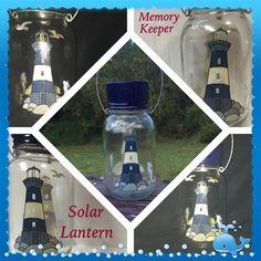 Memory KeeperSolar Light by CraftyToucanShop on Etsy