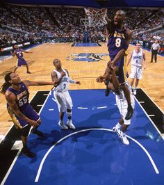 Kobe Bryant dunking over Dwight Howard a few years back! Black Mamba strikes!