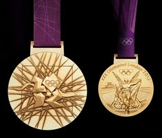 High res. London 2012 Olympic gold medal